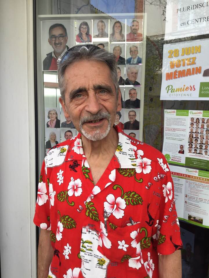 Vincent Heredia, candidat de notre liste, se présente