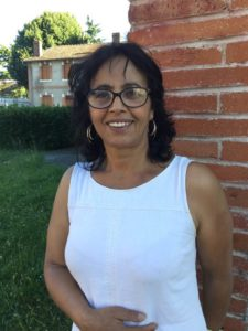 Yasmine Lhand candidate de notre, liste se présente