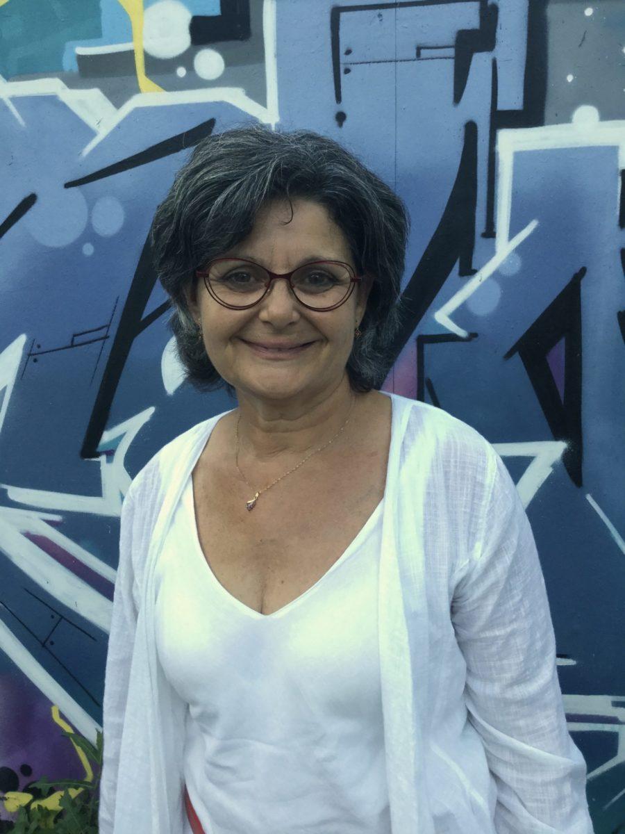 Dominique Lafont, candidate de notre,  liste se présente