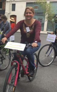 Sonia Caumartin, candidate de notre liste se présente