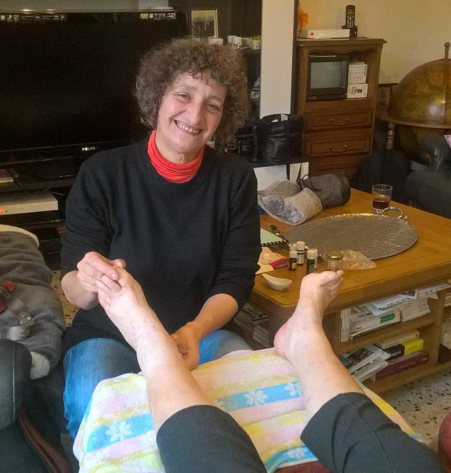 Agnès Deux, candidate de notre, liste se présente
