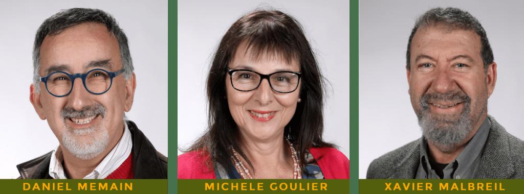 Daniel Mémain Michelle Goulier Xavier Mailbreil